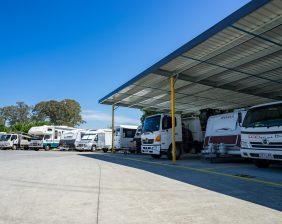Premium Carport Style Vehicle Storage