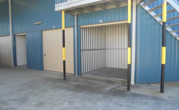 Single Garage Storage